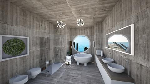 bathstone - Modern - Bathroom  - by soralobo