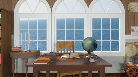 The Captains Cabin - Rustic - Office - by smccauley029
