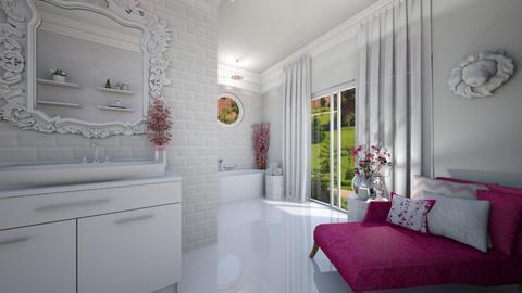 Cherry Blossom Bathroom - Bathroom  - by creato