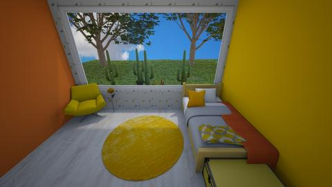 Yellow playful - Bedroom - by Pippies home