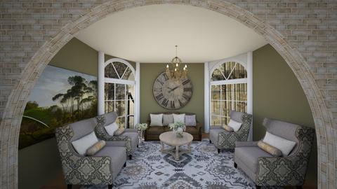 Italian Style Living Room - Living room  - by Feeny