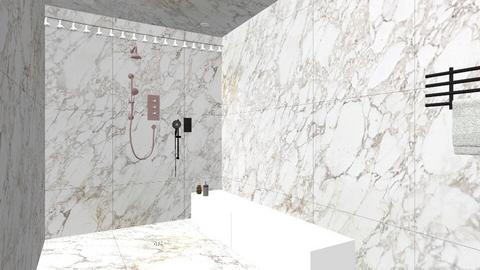 Marble Shower - Bathroom  - by Localzen