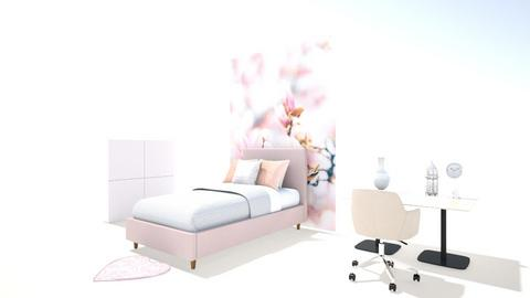 pink jazz - Modern - Bedroom  - by deeps decorate time