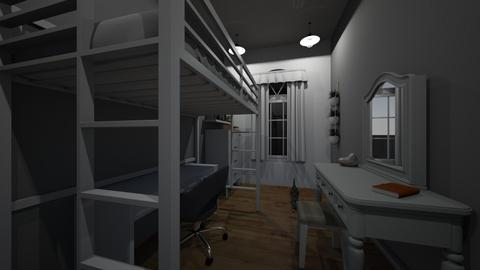 Boxcar Bedroom - Modern - Bedroom  - by 00l0ps