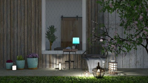 Cozy small garden - by Mihailovikj Mimi