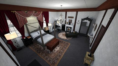 guest suite - Classic - Bedroom  - by lalaloopsy888