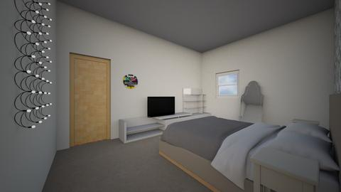 Simple bedroom WIP - Modern - Bedroom  - by YeeterFliesBackwards