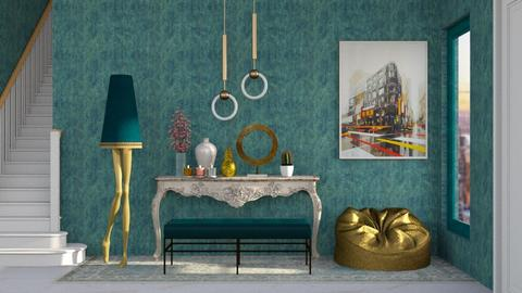 couloir turquoise 2 - Classic - by RimaNina