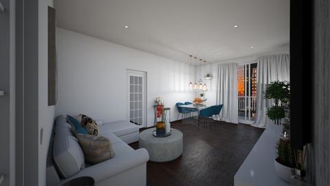 nns lvng - Masculine - Living room  - by Jessi Bust