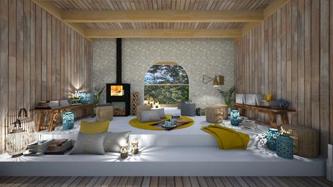 COSY ROOM AUTUMN - Eclectic - Living room  - by kekaibn