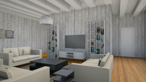 living room 2 - Living room - by Amr Adel Hassan