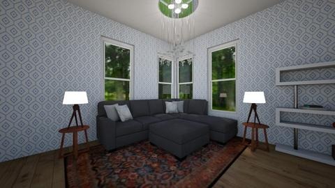Geometric Living Room - Living room - by Chickie4012