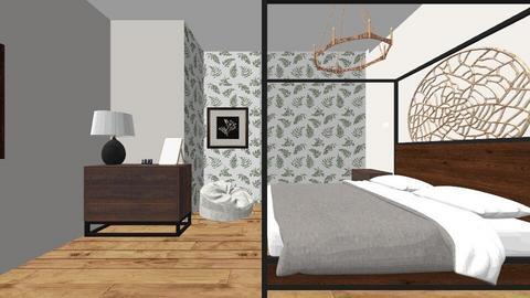 Natalia Gil Period 9 - Modern - Bedroom  - by lilg129class