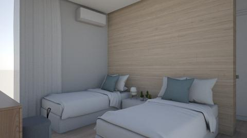 Bedroom House Z - by Valeska Stieg