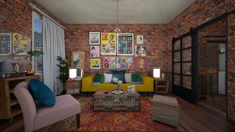 Go back  - Living room  - by tomorrowneverdie22