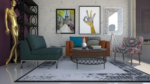 Z - Glamour - Living room - by Karim Mahfouz