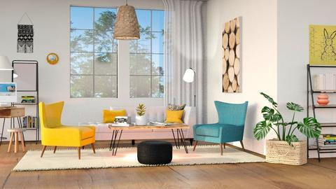 M_ Rabbit - Living room  - by milyca8