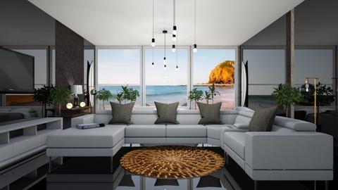 Surf living room - Living room - by rechnaya