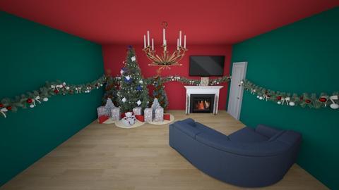 Christmas Living Room - Living room  - by DamonM