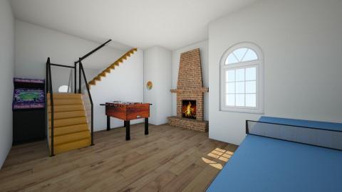 Games room  - Retro - Living room  - by Its Me Marto