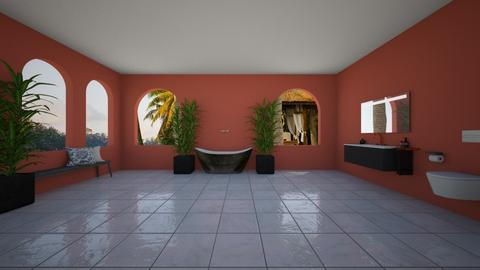 Spanish Moss - Bathroom - by helsewhi