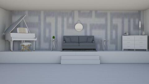 silver lounge - Living room  - by elliers11