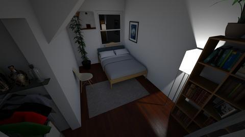 Final Bedroom Draft  - Minimal - Bedroom  - by jjwalker1234