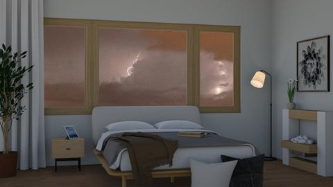 natural storm - Bedroom  - by RaeCam