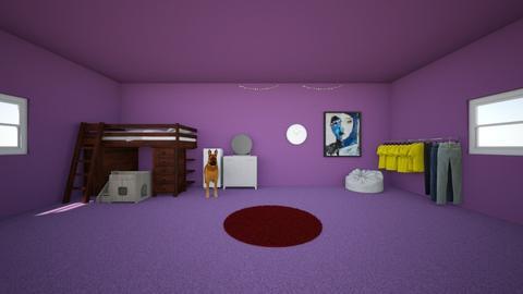 17 year olds bedroom - Feminine - Bedroom  - by ibdesignclass