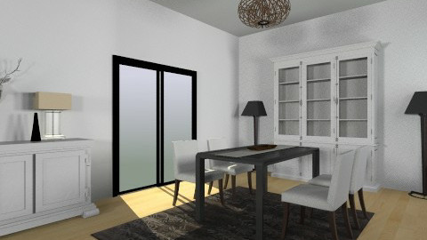 Living Space 4 - Dining room  - by tashguenth