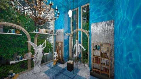 Library of Kai - Eclectic - Garden  - by Wayfarer of Rither Fall