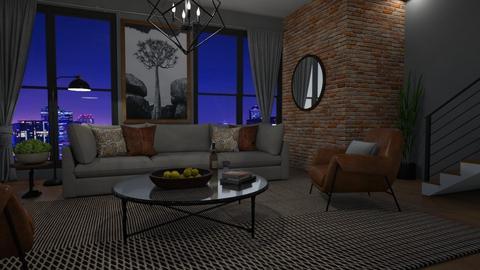 Friday night - Living room  - by Thrud45