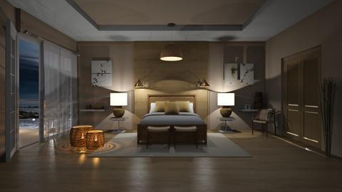 Matilda's Feng Shui Bedroom - by Matilda de Dappere