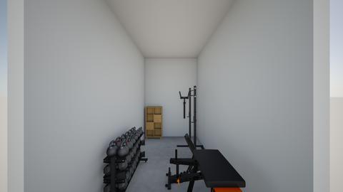 Garage gym concept - by rogue_666964caa054d11fbd43f37181e9d