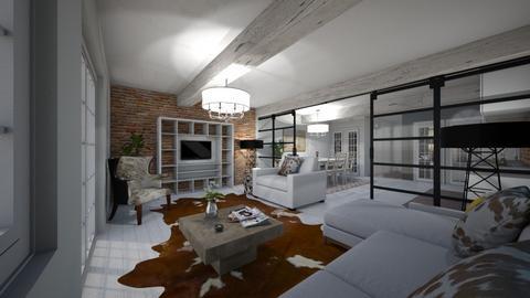 Brouwersgracht - Living room  - by Lisett