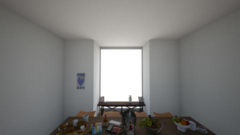 thanksgiving dinging room - by crying_room