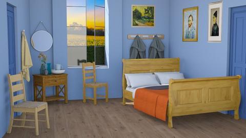 Van Gogh Copy - Bedroom  - by jjp513