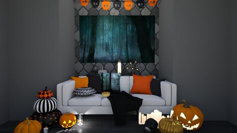 Halloooween - Living room  - by Mint_2005