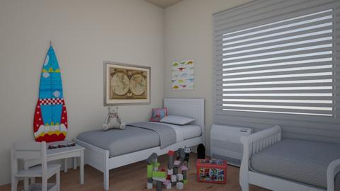 detska3 - Vintage - Kids room  - by vinjarova