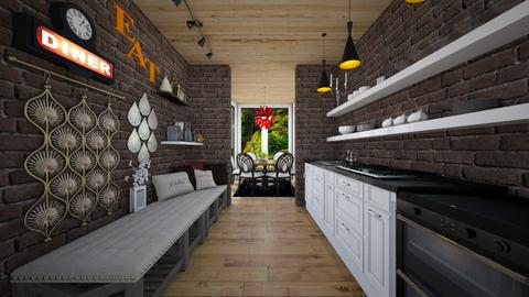Kitchen and Conservatory - Eclectic - Kitchen  - by Bekah Lynn