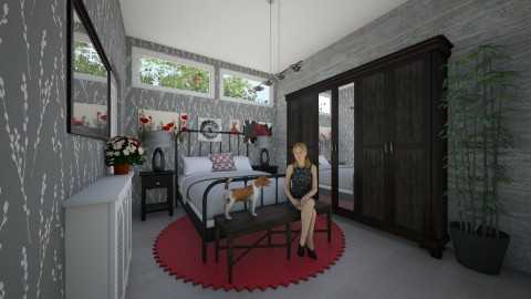 basament - Glamour - Bedroom  - by picuuuu