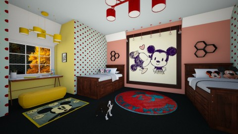 Mickey Mouse Bedroom - Kids room - by FranChi