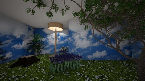 Garden house - by RoseRouge888