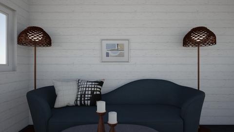 Sofia wooden wall - Minimal - Living room  - by malooriginal