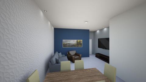 Duplex Sala 1 - Living room  - by vfcardoso