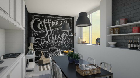 Night Day Kitchen - Modern - by Maria Esteves de Oliveira