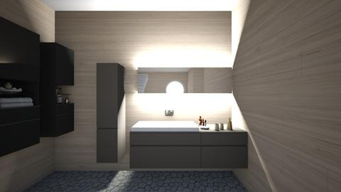Tranquility - Minimal - Bathroom  - by polinasy