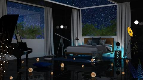 night sky bed - Modern - Bedroom  - by RimaNina