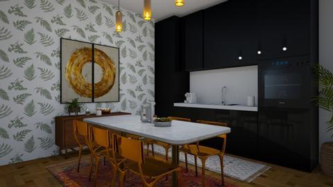 AD Living - Kitchen  - by Doraisthe_nameofmydoggo12345