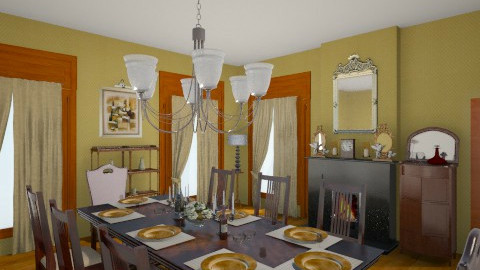 southern dining room - by tiffanynichole